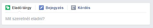 facebook csoport termék eladása funkció 1