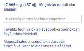 facebook csoport termék eladása funkció 6